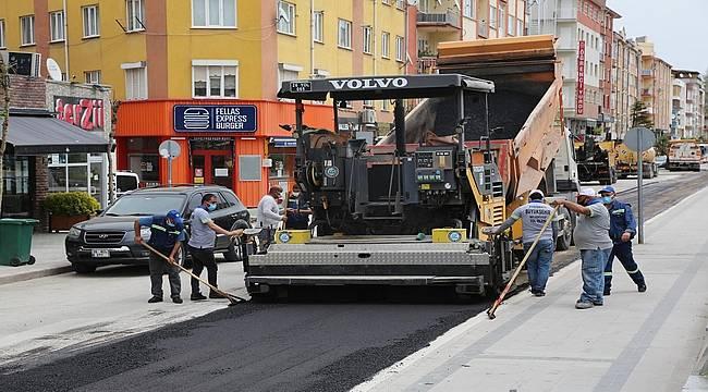 Eskişehir'de bulvar ve caddeler onarılıyor