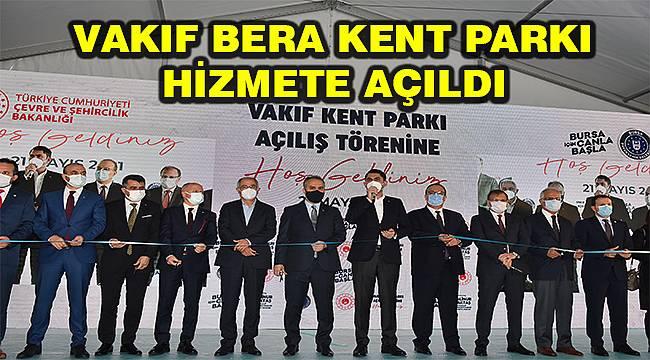 Filistinli Bera'nın adı Bursa'da parka verildi