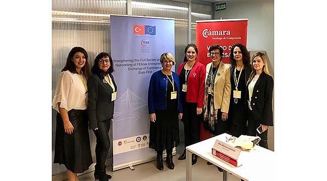 Kadın girişimcilerin Euro-FEM buluşması