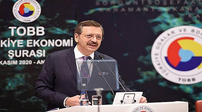 TOBB Başkanı Hisarcıklıoğlu'ndan Kurban Bayramı mesajı