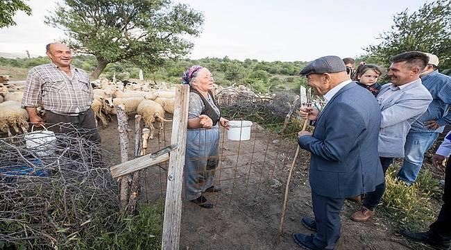 Tunç Soyer: Kozak Yaylası'nın meralarını üreticiye bıraksınlar