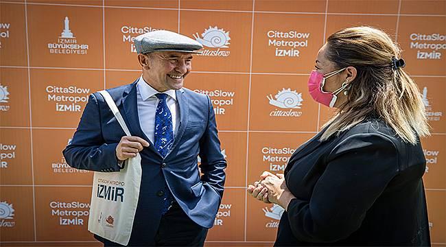 Başkan Soyer Cittaslow Metropol projesini anlattı: