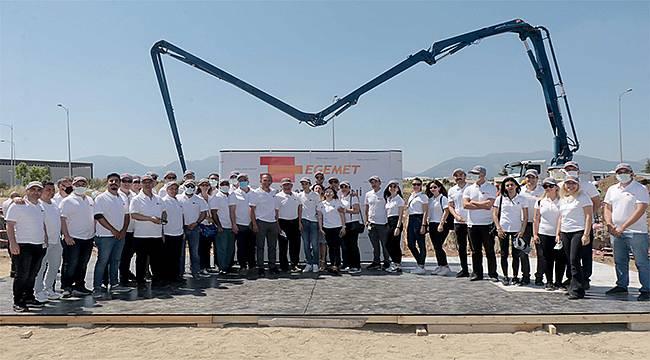 BAYOSB'ye yeni fabrika temeli