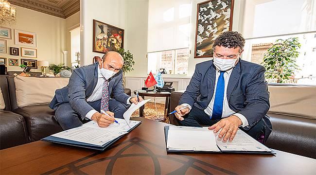 Büyükşehir ile BM arasında işbirliği mutabakatı