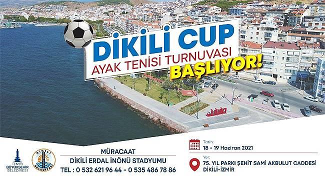 Dikili Cup Ayak Tenisi Turnuvası başlıyor