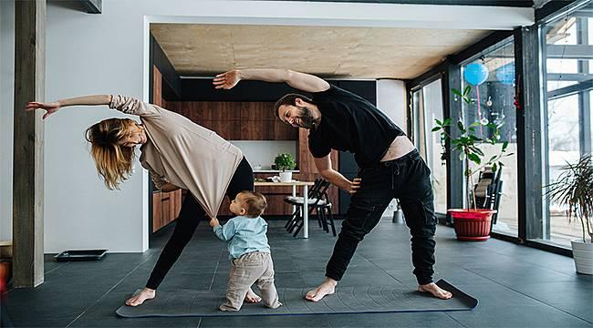 Evde egzersiz yaparken dikkat edilmesi gereken kurallar...