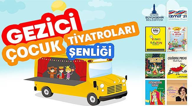 Gezici Çocuk Tiyatroları Şenliği 12 Haziran'da başlıyor
