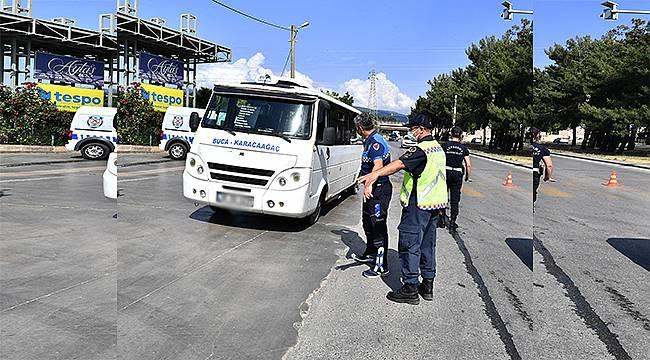 İzmir Büyükşehir Belediyesinden korsan taşımacılığa set