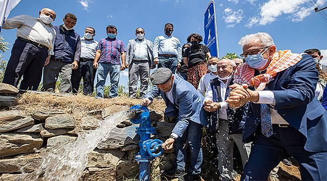 İzmir Büyükşehir'den Ödemiş Birgili üreticilere can suyu
