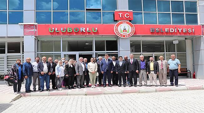 Karşıyaka Belediye Başkanı Cemil Tugay'dan kardeş belediye ziyareti