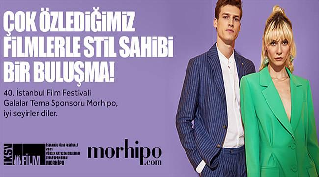 """Morhipo ile 40. İstanbul Film Festivali """"Galalar"""" Heyecanı Başlıyor"""