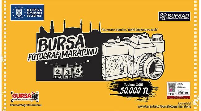 Ulusal Bursa Fotoğraf Maratonu 2 Temmuz'da başlıyor