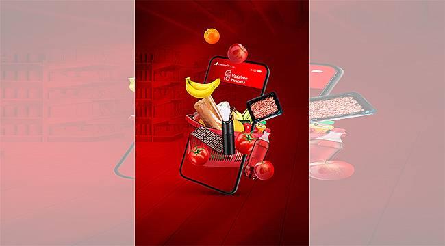 """Vodafone'dan """"Süpermarket"""" müşterilerine mobil ödeme kolaylığı"""