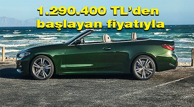 Yeni BMW 4 Serisi Cabrio Türkiye'de ön siparişe açıldı