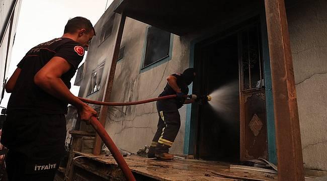 Antalya Büyükşehir 213 araç 481 personel ile yangın bölgesinde