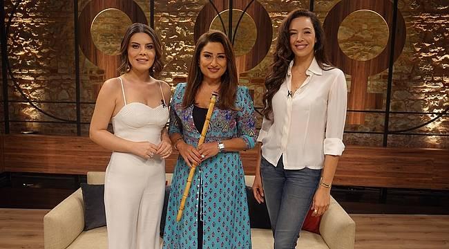 """Azra Akın ve Burcu Karadağ """"Kadının Eseri"""" programına konuk oldu!"""