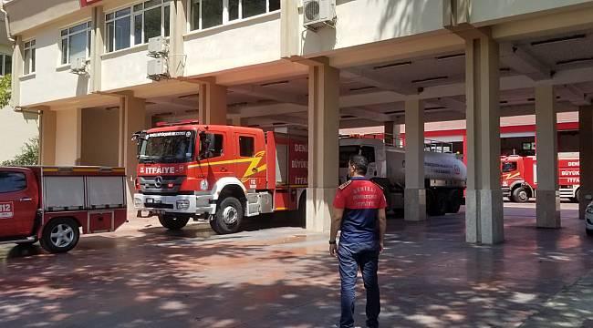 Denizli Büyükşehir Belediyesi ekipleri Manavgat'a ulaşıyor