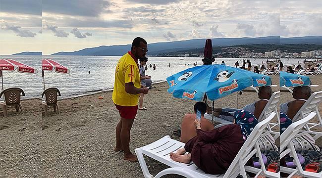 Gemlik Belediyesi güvenli tatil için bilgilendiriyor
