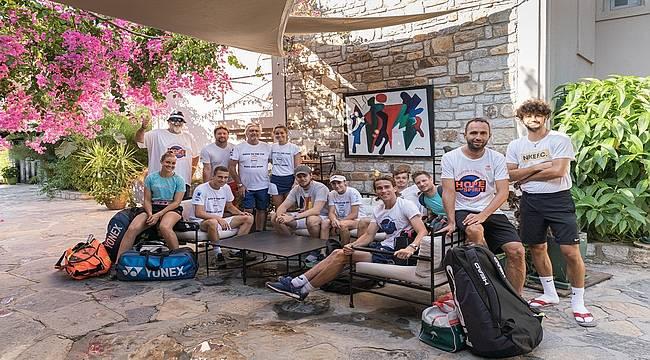 No:81 Hotel ünlü tenisçileri ağırlıyor