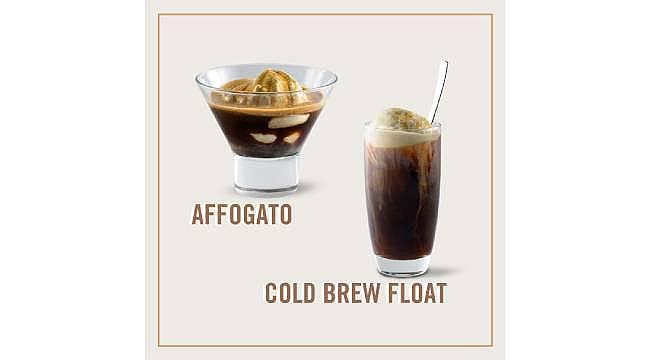 Starbucks'tan dondurmalı kahveler!