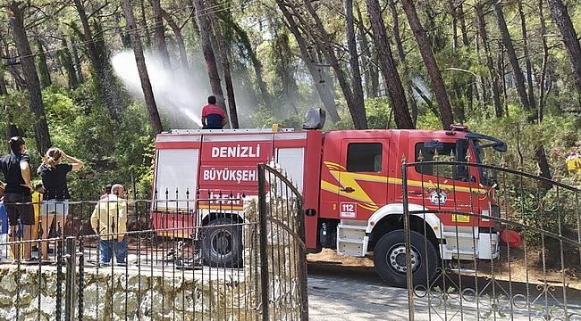 Yangın söndürme çalışmaları dur durak bilmeden devam ediyor