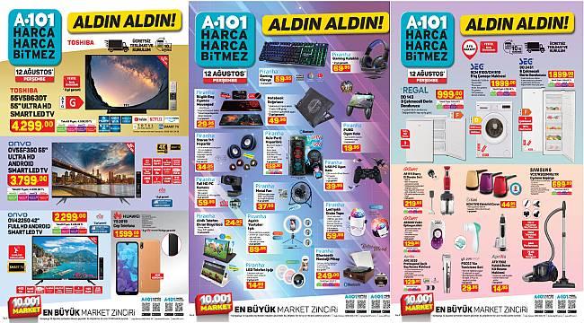 A101'de bu hafta neler var? A101 12 Ağustos 2021 aktüel ürünler kataloğu! A101 indirimli ürünler listesi