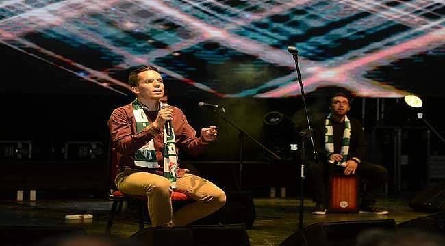 Armin Muzaferija Uluslararası Bursa Festivali'nde sahne aldı