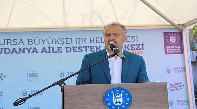 """Başkan Alinur Aktaş: """"Arı gibi çalışıyoruz"""""""