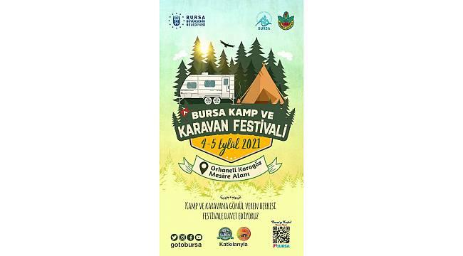 Bursa Kamp ve Karavan Festivali'nin programı belirlendi