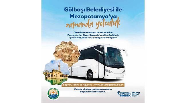 Gölbaşı Belediyesi ile Mezopotamya'ya yolculuk...