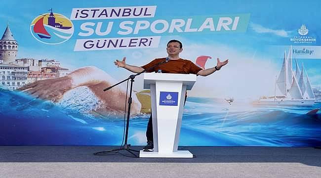 """İBB Başkanı Ekrem İmamoğlu: """"2036 Olimpiyatları'nı İstanbul'a getirmekte iddialıyız"""""""