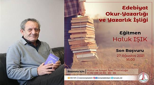 """Karşıyaka Belediyesinde """"Yazarlık İşliği"""" başlıyor"""