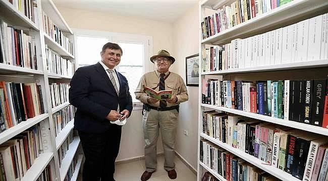 Karşıyaka'ya Yaşar Aksoy Kitaplığı