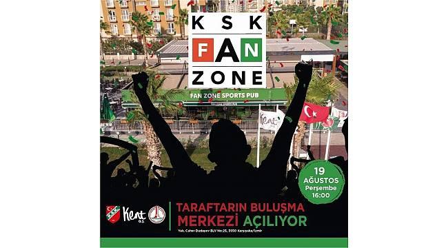 Karşıyakalı taraftarlar için yeni bir yaşam merkezi: KSK Fan Zone
