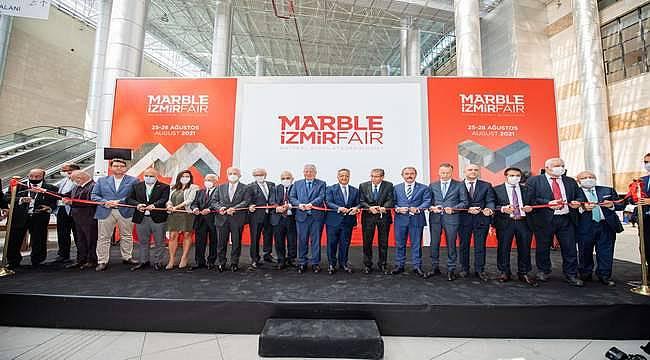 Marble İzmir Fuarı'nın pandemi nedeniyle verdiği iki yıllık ara son buldu
