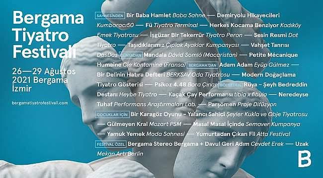 Perde açılıyor! Bergama Tiyatro Festivali başlıyor