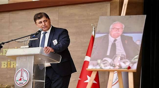 Sancar Maruflu'ya duygu dolu veda: Seni unutmayacağız İzmir Baba