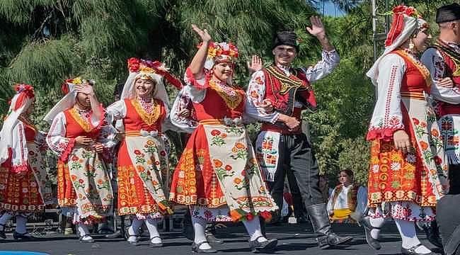 15. Balkanlılar Halk Dansları ve Kültürü Festivali devam ediyor