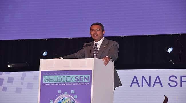 """Koç Holding Yönetim Kurulu Başkan Vekili Ali Y. Koç: """"Hedefini günü kurtarmak olarak belirleyenlerin geleceği olamaz."""""""