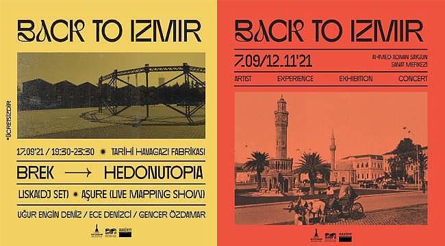 Back To İzmir sergisi 7 Eylül-12 Kasım tarihleri arasında...