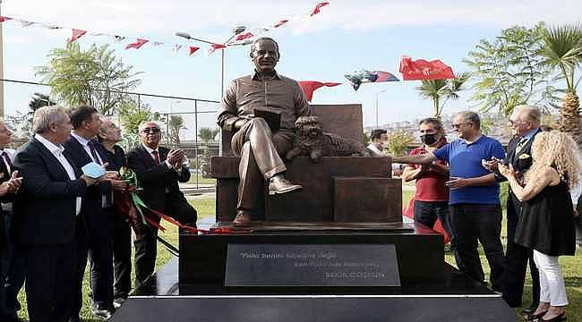 Bekir Coşkun heykeli törenle açıldı