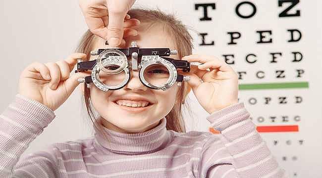 Çocuklarda görme bozukluğu oluşumunu önlemek için...