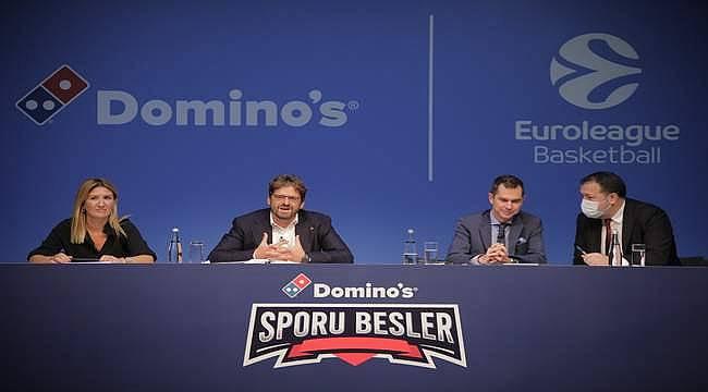 Domino's'tan Euroleague'e dev destek