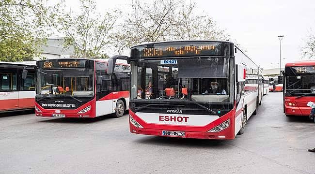 İzmir'de toplu ulaşıma fuar ayarı