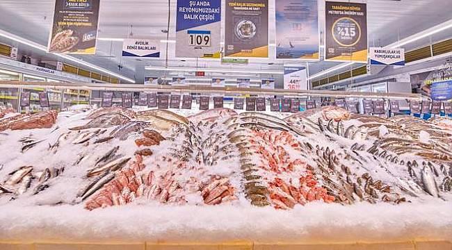 Metro Türkiye'den balık sezonuna özel deniz balıklarında %15 indirim!