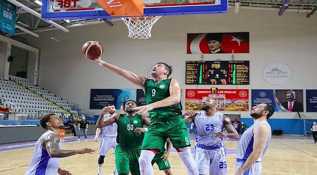 Nefes Kesen Mücadelede! Manisa BBSK 78-77 HDI Sigorta Afyon Belediye Basketbol