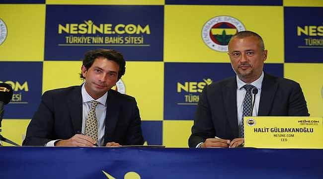 Nesine.com, Fenerbahçe'nin forma kol sponsoru oldu