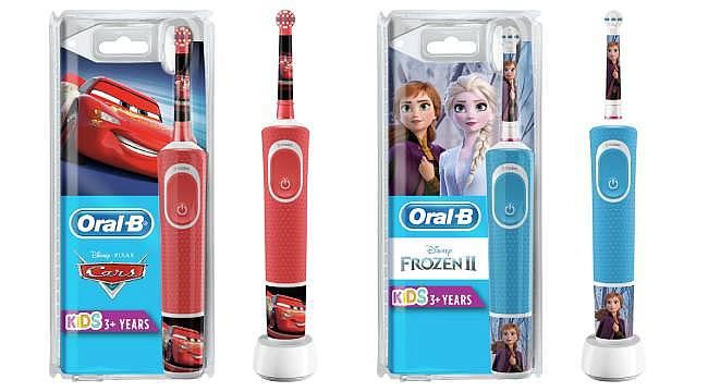 Oral-B'den çocuklara özel Disney temalı Vitality diş fırçaları…