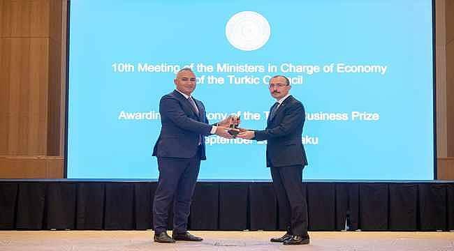 """SOCAR Türkiye """"Türk Konseyi Yatırım Ödülü""""ne layık görüldü"""