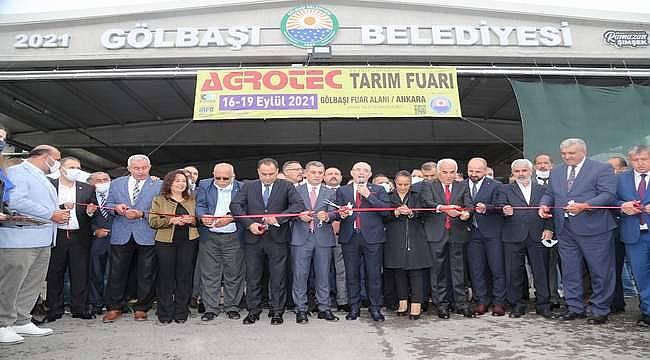 Tarım Sektörü, AGROTEC 2021 24. Uluslararası Tarım Fuarı'nda buluştu